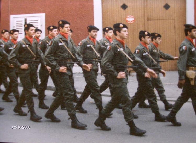 défilé 1981 - 57E REGIMENT D ARTILLERIE