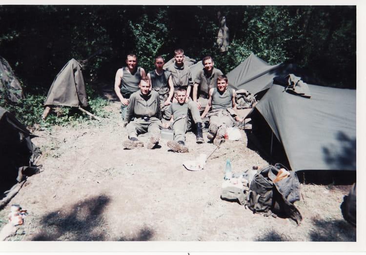 P1 3eme ESC 94/10 1994 - 4EME CUIRASSIERS