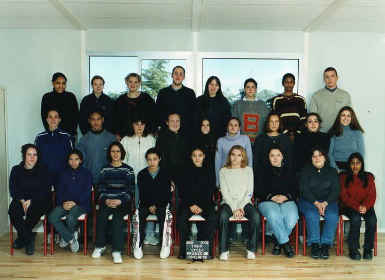 photo de classe bac pro seconde annee de 2001 lyc e professionnel fran oise copains d 39 avant. Black Bedroom Furniture Sets. Home Design Ideas
