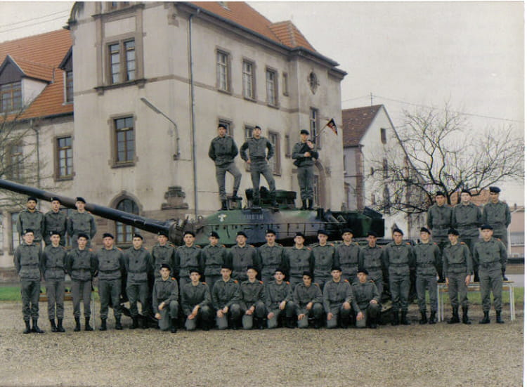 93/2 PELOTON3 EDI 1993 - 4EME CUIRASSIERS