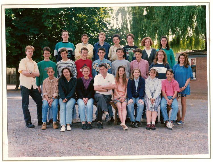 photo de classe 3 232 me d de 1993 coll 232 ge jean baptiste de la salle copains d avant