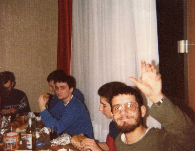 Casse croute en chambre. 1982 - 57E REGIMENT D ARTILLERIE