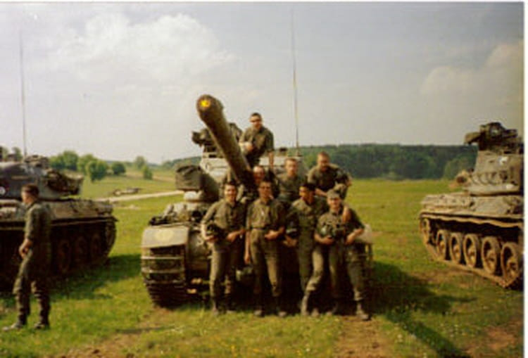 manoeuvres 1989 - 57E REGIMENT D ARTILLERIE