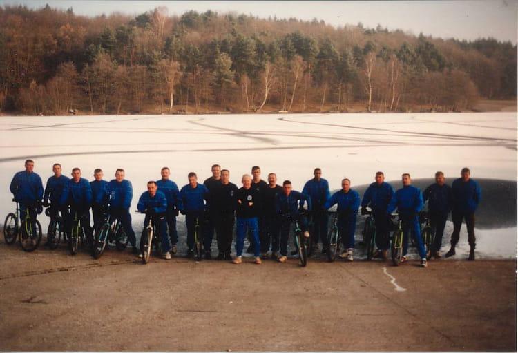 Cadre du 4ème RC - 1er Escadron 1993 - 4EME CUIRASSIERS