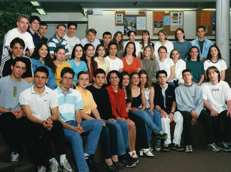 photo de classe 1 232 re s de 1998 lyc 233 e fran 231 ois d assise copains d avant