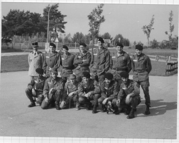 La quille pour la 79-10 1980 - 57E REGIMENT D ARTILLERIE