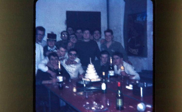 la fête au cuisine 1966 - 1ER R.I.M.
