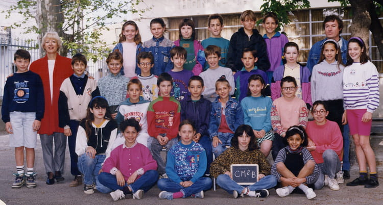 photo de classe foto de classe de 1992 ecole roger gaubil saint andre de sangonis copains d. Black Bedroom Furniture Sets. Home Design Ideas