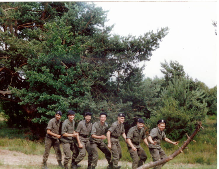 manoeuvres 1989 - 4EME CUIRASSIERS
