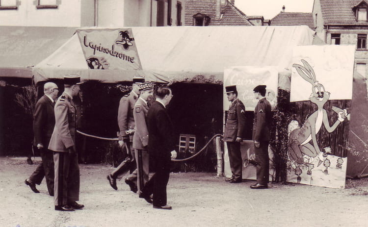 fete du regiment 1969 - 4EME CUIRASSIERS