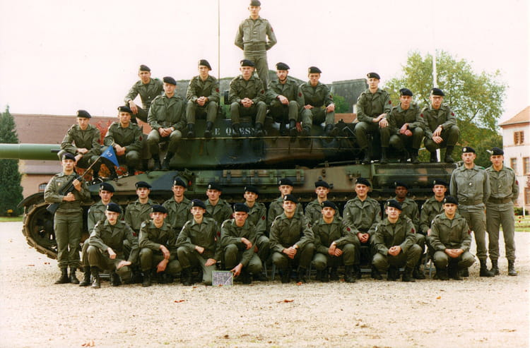 4ème RC 3ème Escadron 1er Peloton 1993 - 4EME CUIRASSIERS
