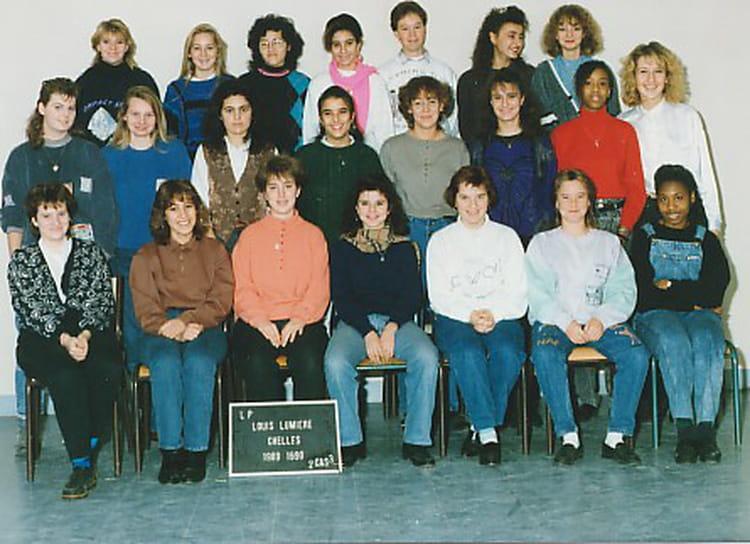 photo de classe 2ca3 de 1989 lyc 233 e professionnel louis lumi 232 re copains d avant