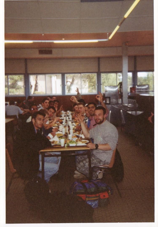 dernier jour 1997 - 57E REGIMENT D ARTILLERIE