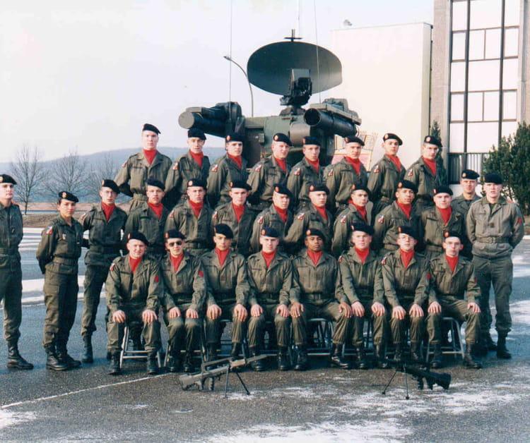 Février 1996 à Bitche au 57RA 1996 - 57E REGIMENT D ARTILLERIE