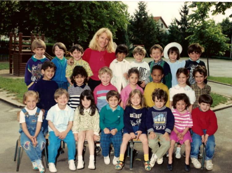 photo de classe 2 me ann e maternelle de 1989 ecole maternelle fontaine grelot copains d 39 avant. Black Bedroom Furniture Sets. Home Design Ideas