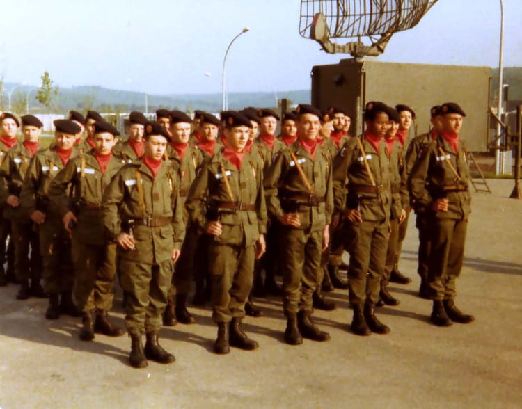 section du 2B 1978 - 57E REGIMENT D ARTILLERIE