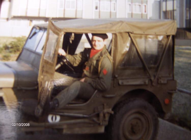 Ma jeep et moi 1981 - 57E REGIMENT D ARTILLERIE