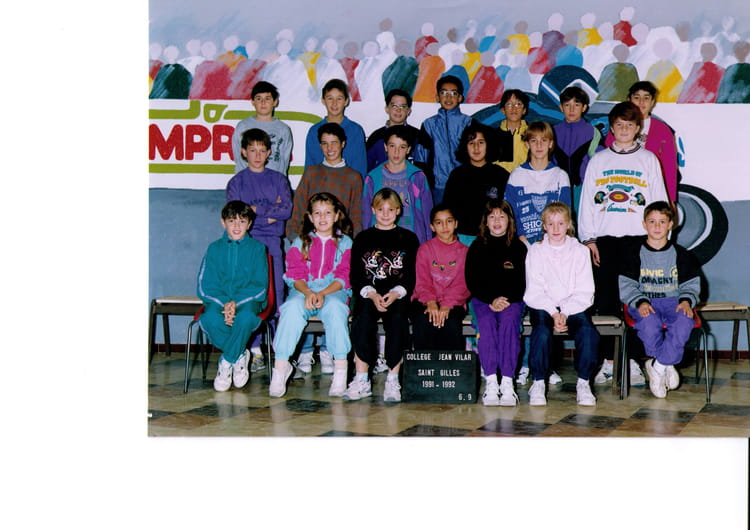 photo de classe 6 me9 de 1991 coll ge jean vilar copains d 39 avant. Black Bedroom Furniture Sets. Home Design Ideas