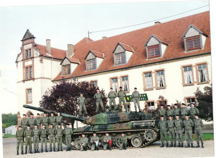 quel bel escadron 1992 - 4EME CUIRASSIERS