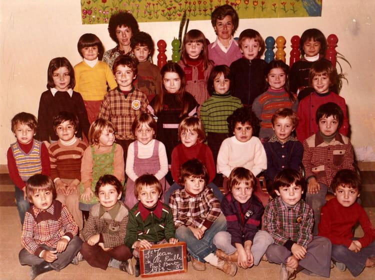 photo de classe maternelle paul bert de 1978 ecole paul bert saint jean de la ruelle. Black Bedroom Furniture Sets. Home Design Ideas