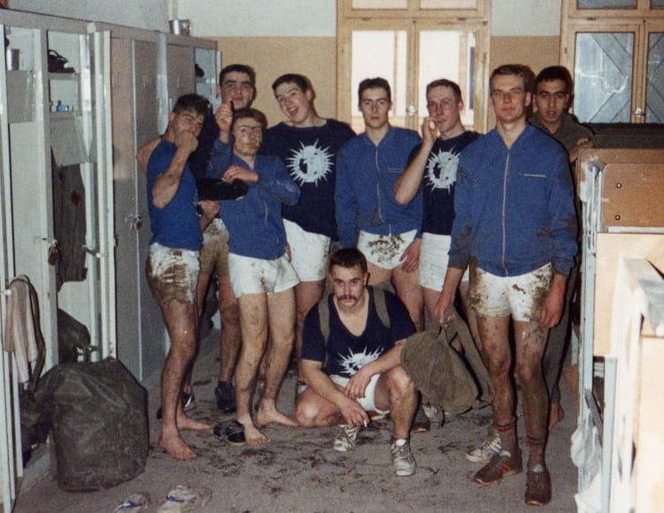 4eme cuirassiers peloton floreck 1990 - 4EME CUIRASSIERS