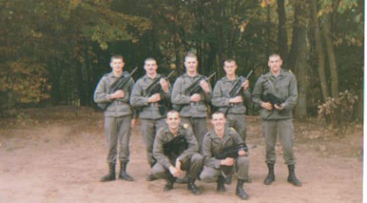 STAGE COMMANDO 1990 - 4EME CUIRASSIERS