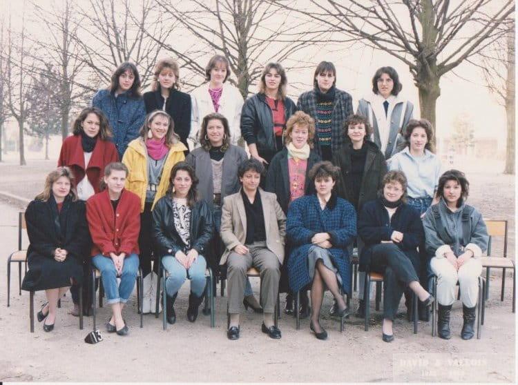 photo de classe terminale g lyc 233 e gaston bachelard de 1985 lyc 233 e gaston bachelard copains d avant