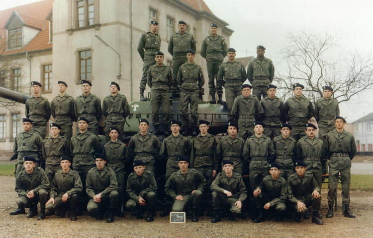 4e escadron Peloton FLOREK (3) 1993 - 4EME CUIRASSIERS
