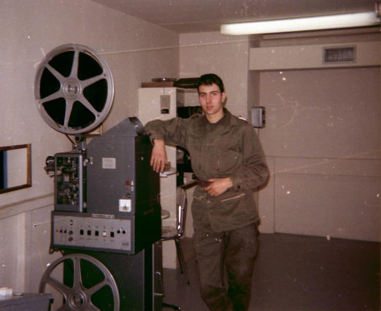 projectionniste du 57ème RA 79-80 1979 - 57E REGIMENT D ARTILLERIE