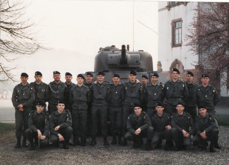 94/10 3eme esc - Peloton rech 1994 - 4EME CUIRASSIERS