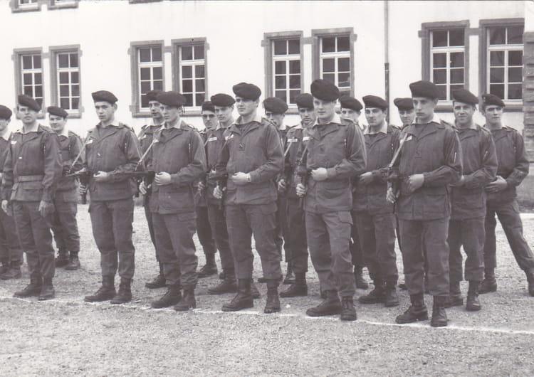 1° escadron 1971 - 4EME CUIRASSIERS
