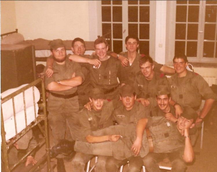 Manoeuvre à Bitche septembre 80 1980 - 3EM RA