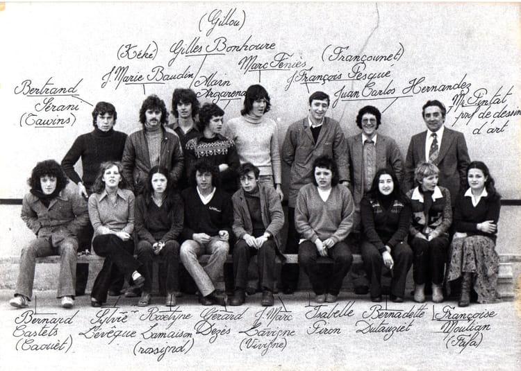 Photo de classe bt ar collaborateur d 39 architecte de 1978 for Collaborateur d architecte onisep