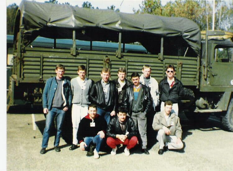 SOUVENIRS DE COPAINS 1987 - 57E REGIMENT D ARTILLERIE