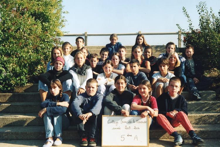 photo de classe 5ea de 2003 coll 232 ge jean de la varende copains d avant