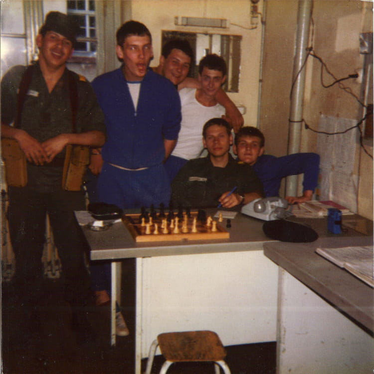 le bureau de semaine 1983 - 57E REGIMENT D ARTILLERIE