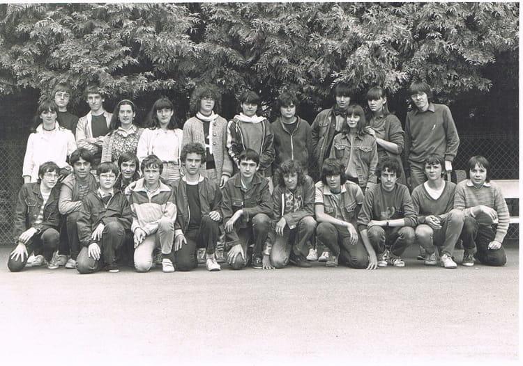 Photo de classe 3 me de 1983 coll ge du jardin des plantes copains d 39 avant - College du jardin des plantes poitiers ...