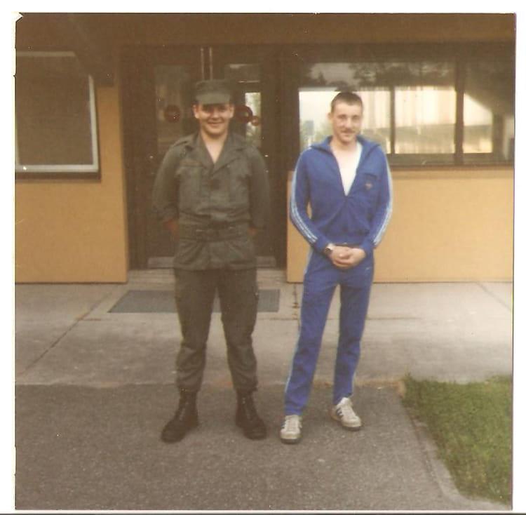 alain et jean luc 1986 - 57E REGIMENT D ARTILLERIE