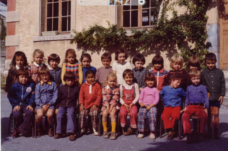 CP 1973 - ECOLE CYBELLE (GRESY SUR ISERE)