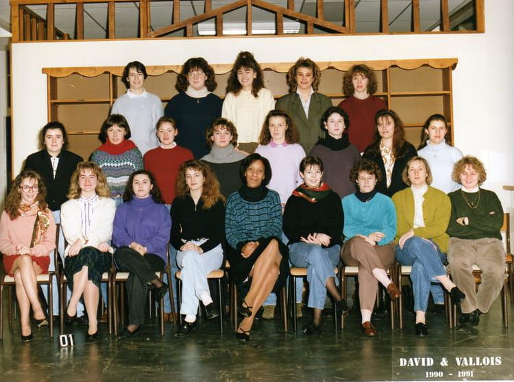 photo de classe 1 232 re 233 e bts bureautique de 1991 lyc 233 e porte oc 233 ane copains d avant