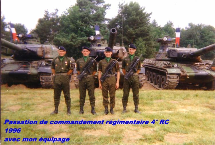 Mon équipage en 1997 1996 - 4ème RC