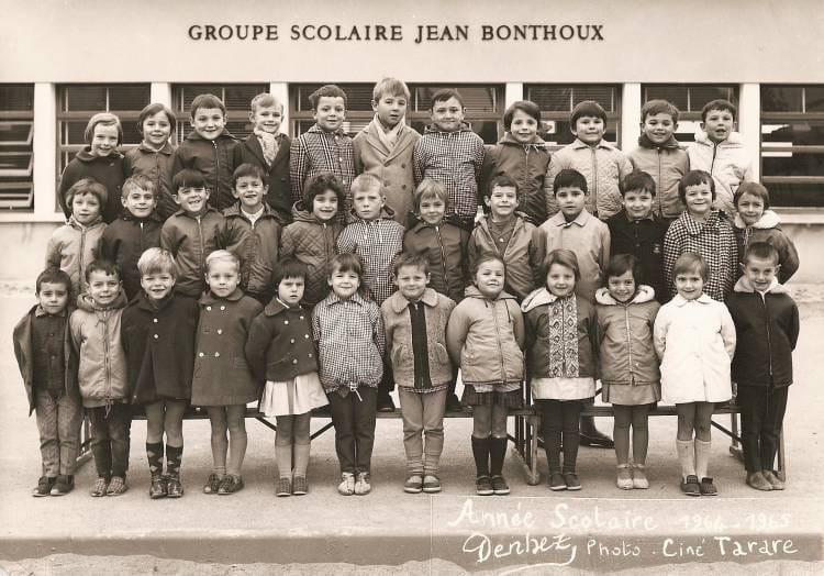Photo de classe ecole jean bonthoux de 1964 ecole jean - Cours de cuisine villefranche sur saone ...