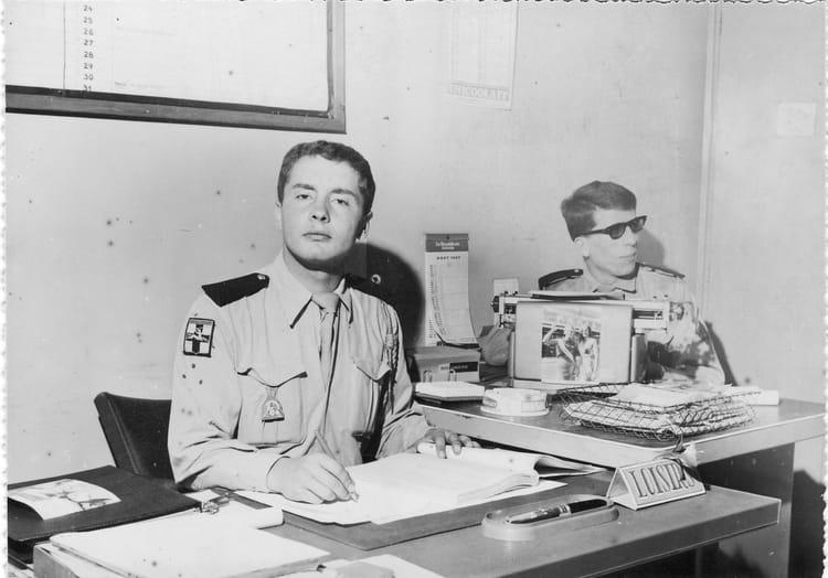 .Les secrétaires de l'Officier Conseil 1967 - 1ER R.I.M.