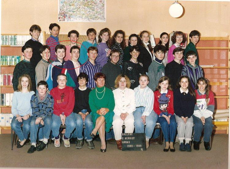 photo de classe 3 me c de 1988 college edouard herriot copains d 39 avant. Black Bedroom Furniture Sets. Home Design Ideas