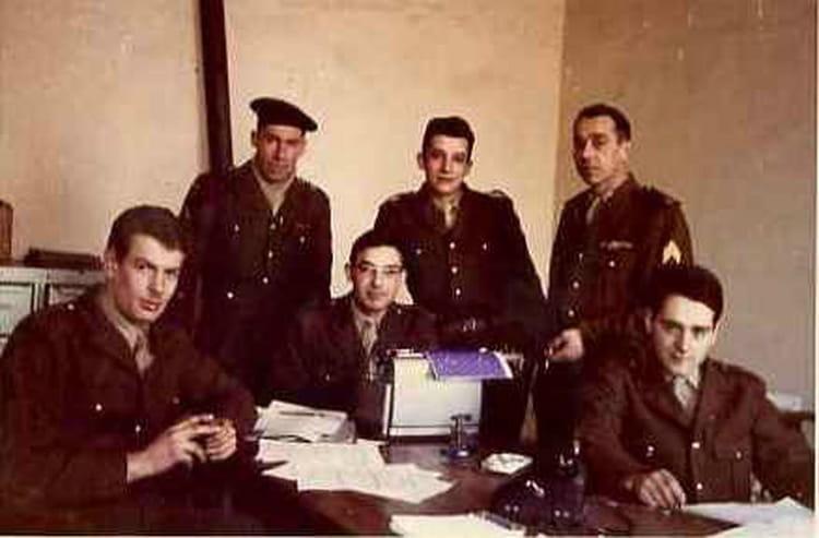 Bureau ccs 1963 - 1ER R.I.M.