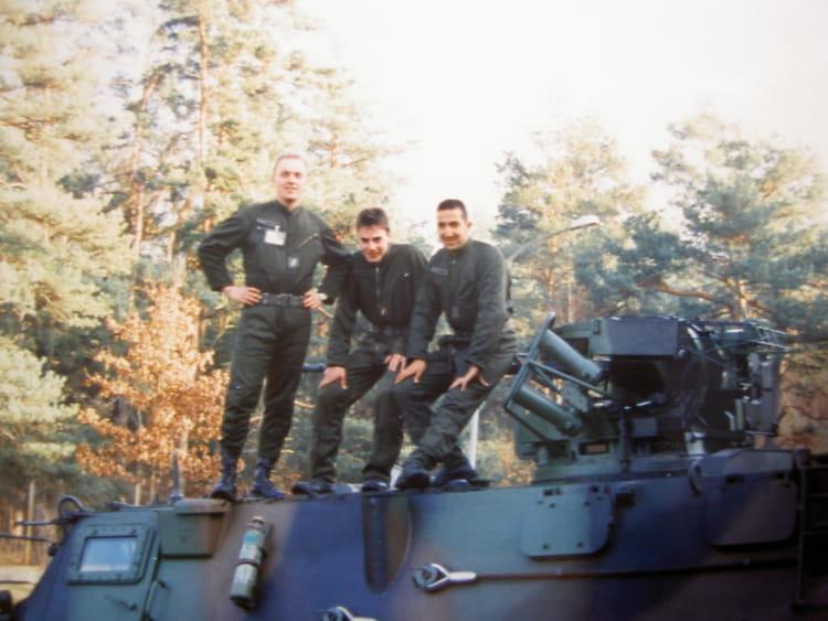 sur le VAB 1993 - 57E REGIMENT D ARTILLERIE