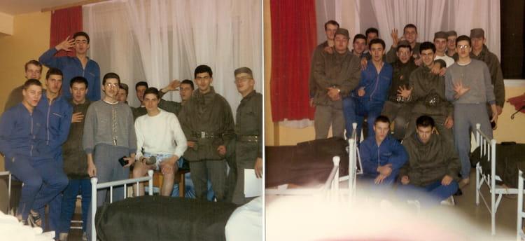 Les potes du contingent 1988 - 57E REGIMENT D ARTILLERIE