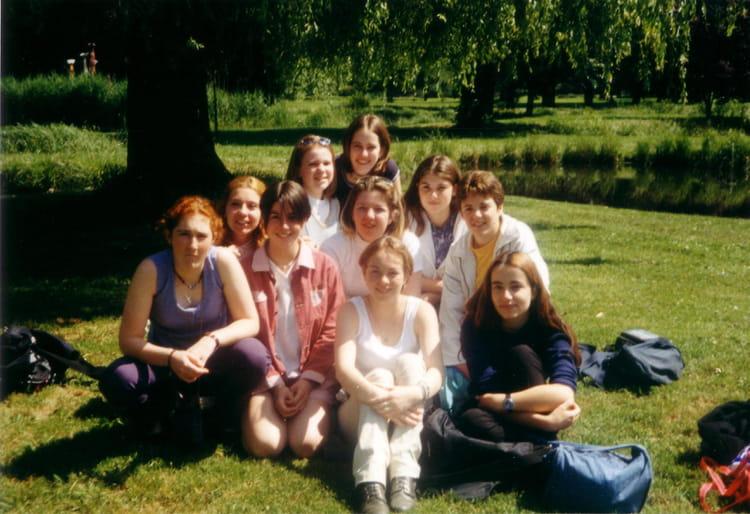 photo de classe seconde de 1999 lyc 233 e portes de l oisans copains d avant