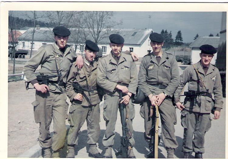 Armée BITCHE-Ville 1966 - 1ER R.I.M.
