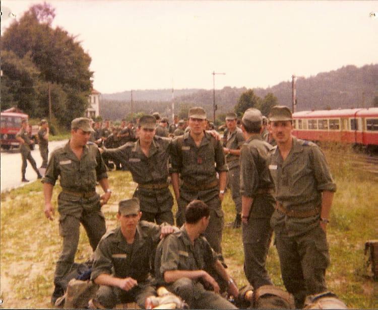copain d'armée 1982 - 57E REGIMENT D ARTILLERIE